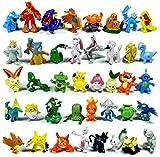 REAMTOP 144pcs Monster Action Figures 2-3cm