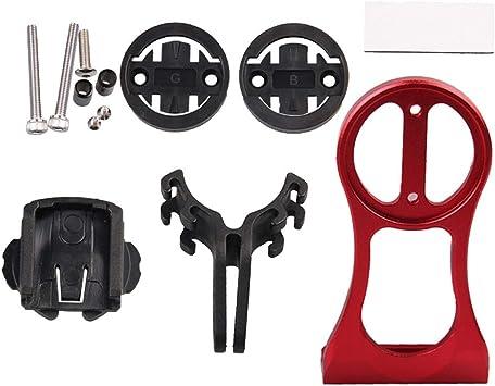 Toygogo Soporte para Computadora de Bicicleta, Adaptador de Cronómetro Cámara GPS para Bicicleta Frontal para Garmin Bryton - Rojo: Amazon.es: Deportes y aire libre