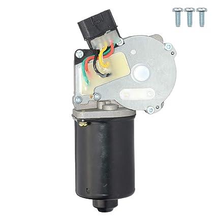 Motor limpiaparabrisas delantero 0390241373, 28815-BU000: Amazon.es ...