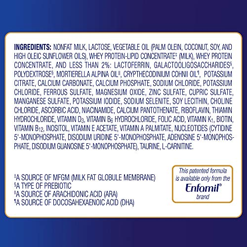 Enfamil Enspire Baby Formula Milk Powder & Refills, 102.5 Ounce, Omega 3 DHA, Probiotics, Immune Support by Enfamil (Image #7)