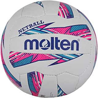 Molten Femme Striker Netball Club et Match Level, Rose/Bleu, Taille 5