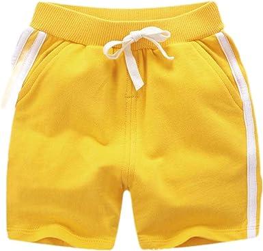 H&E - Pantalones cortos de algodón para niños y niñas, diseño de ...