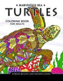 Marvelous Sea Turtles Coloring Book for