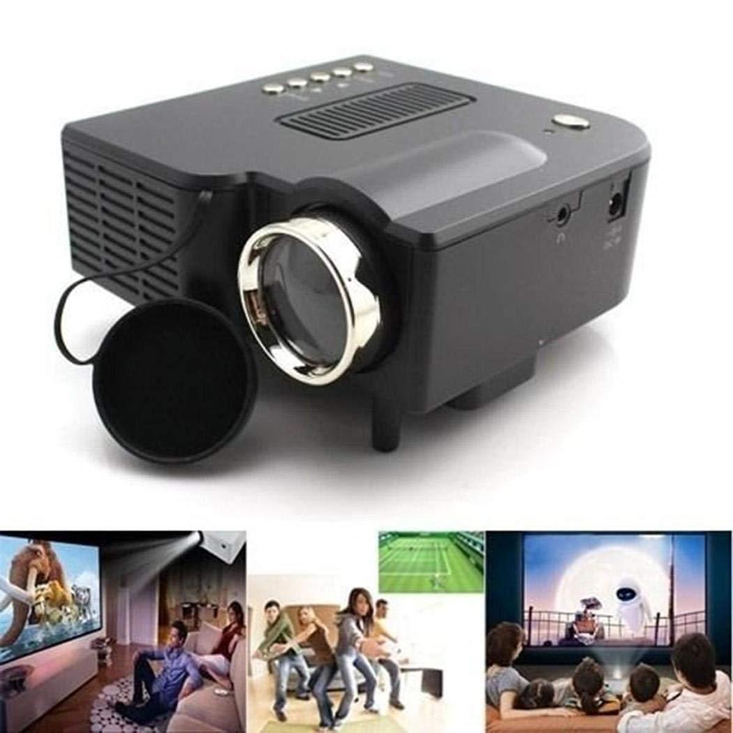 Gugio Proyector Portátil Mini Proyector de Vídeo HD 1080p LED ...