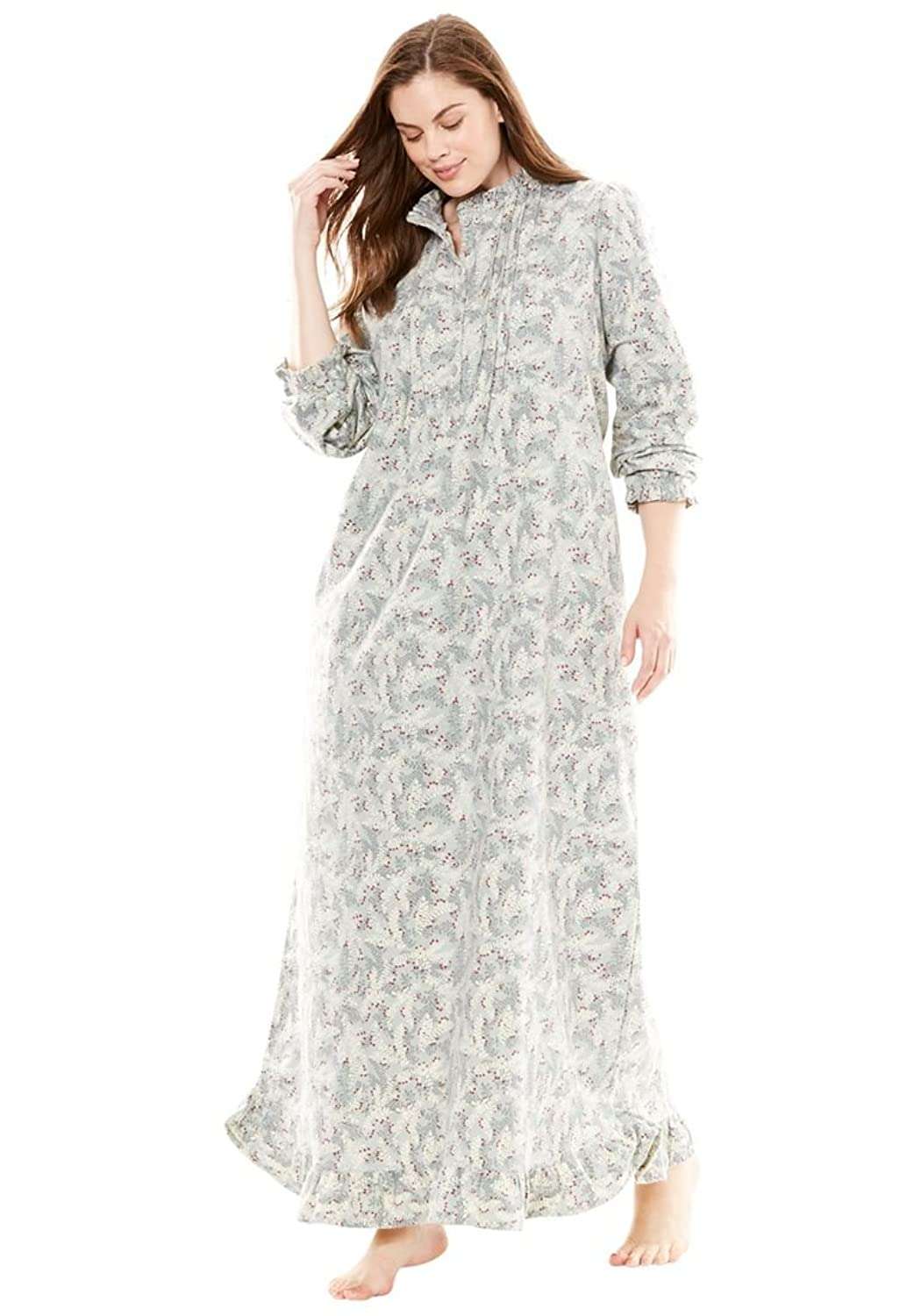 Plus Size Flannel Gowns Wwwtopsimagescom