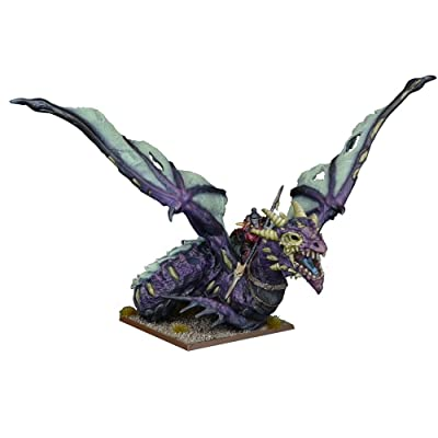 Mantic Games MGKWU204 Vampire Lord on Undead Dragon Miniature Game, Multi-Colour: Toys & Games [5Bkhe0205494]