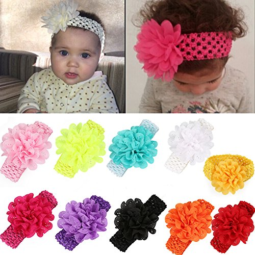 EagleUS Toddler Headband Elastic Headwear