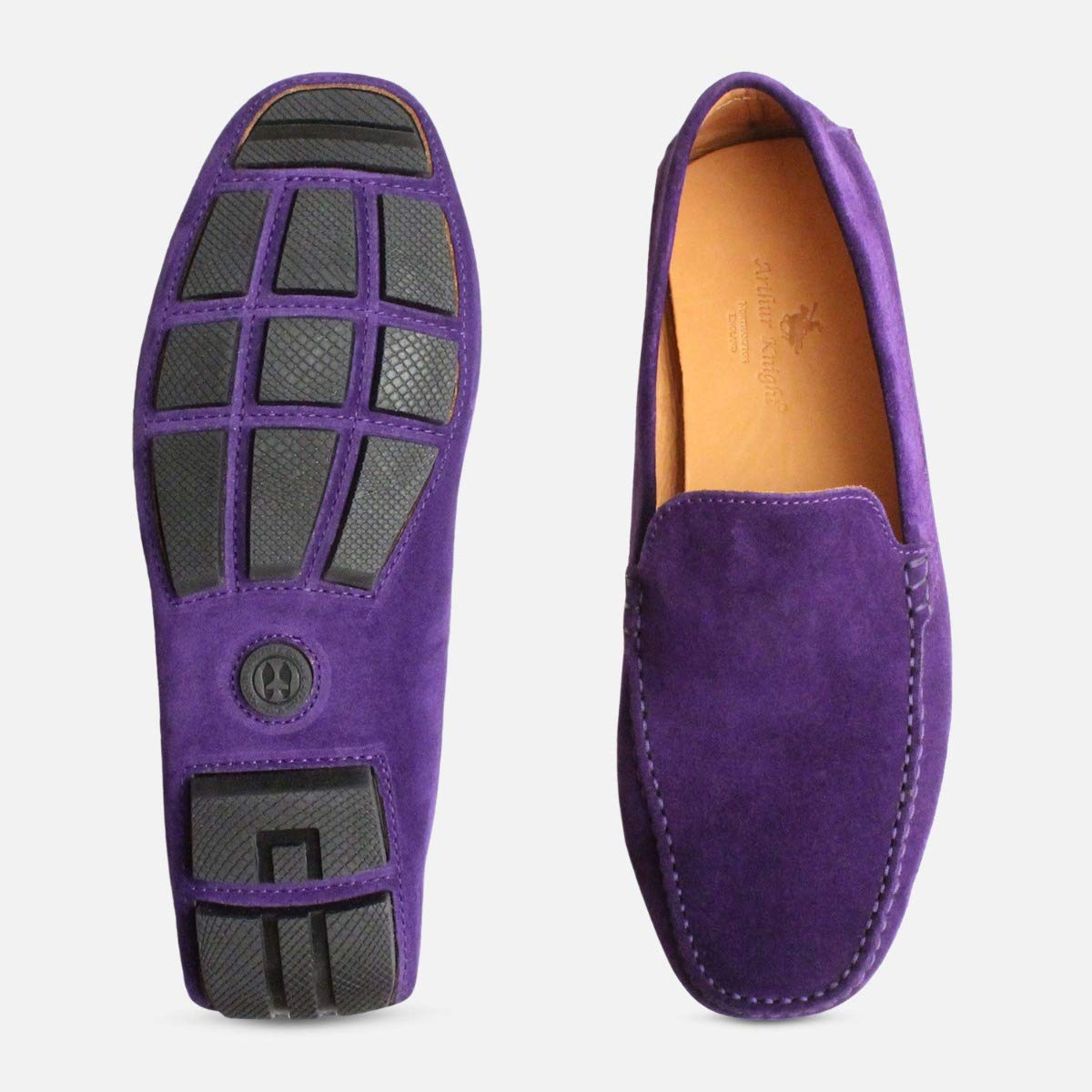 08966bcadb6 Deep Purple Italian Moccasins by Arthur Knight Shoes-Mens UK 10   Amazon.co.uk  Shoes   Bags