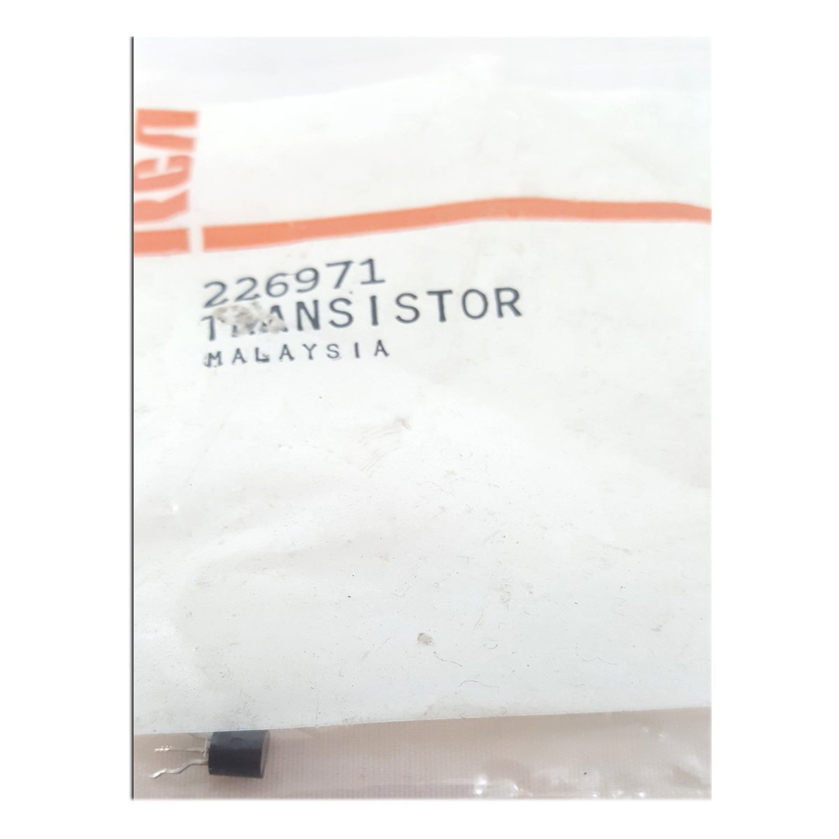 RCA VCR Replacement Transistor Part No. 226971
