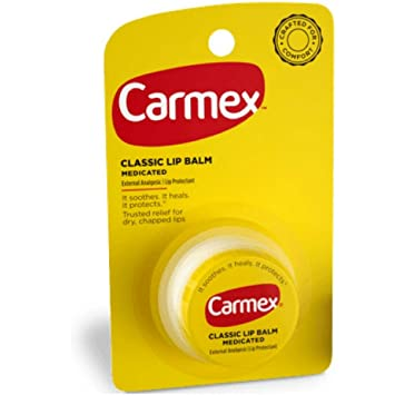Carmex For-Cold-Sores Lip Balm 0.25 oz (Pack of 6) HTH Spa Nutrient Enriched Spa Moisturizer