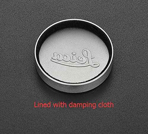 JFOTO Qs-C Metal Silver Lens Cap Front Cover for Leica L39 E39 39mm Summicron Summaron Tinra 35/2 M50/2, Internal Diameter 42mm(1.65in)