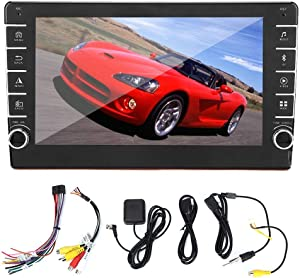 Car DVD Player, 10.1in Car GPS Navigation Universal 2Din Stereo Radio Player Auto Stereo Radio Player Bluetooth Car Audio for Android System