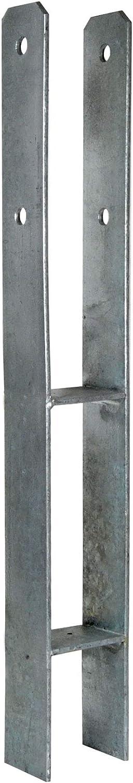 H-Anker 5,0-5,5mm feuerverzinkt 600mm 71//91//101//141 Pfostentr/äger Pfostenanker Zaun caport 4, 141mm//600mm