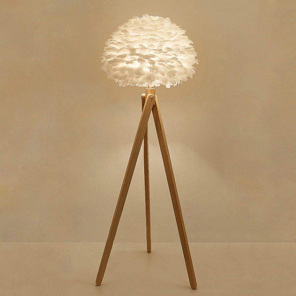 Stehlampe Log Farbe Massivholz Kunst Stativ Stehleuchte kreative Feder Lampe Gästezimmer Hotel Lobby Beleuchtung Wohnzimmer