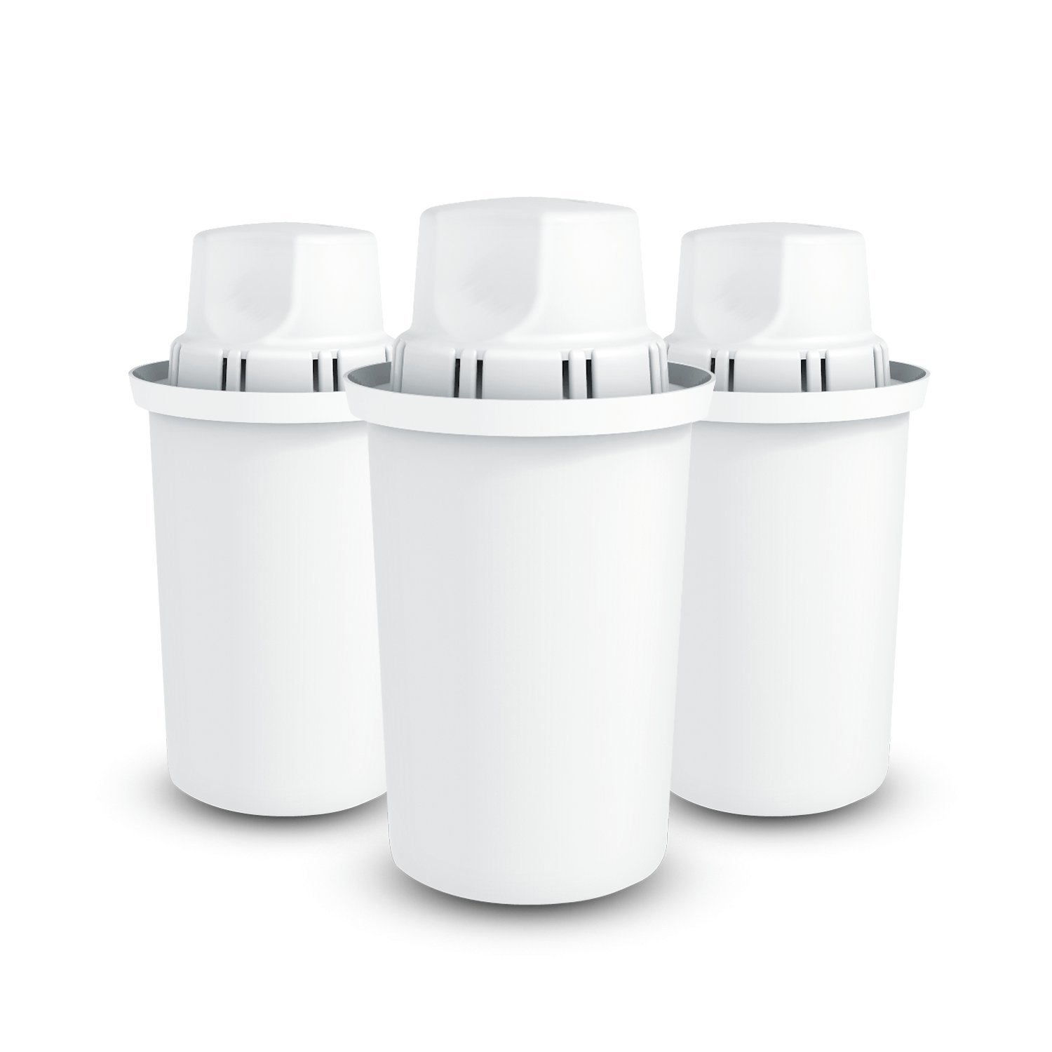 Dafi Standard Water Filter - Get rid of chlorine taste and odor and enjoy clean and tasty water (3-pack)