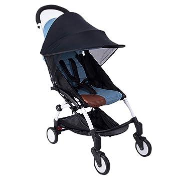 ec937394e8 SYGoodBUY Regenschutzhaube für Universal Kinderwagen Anti-UV-Schutz gegen  Regen und Wind für den