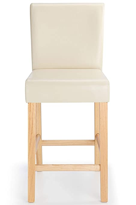 Awesome Costantino Tuscany Breakfast Bar Stool Cream Oak Pabps2019 Chair Design Images Pabps2019Com
