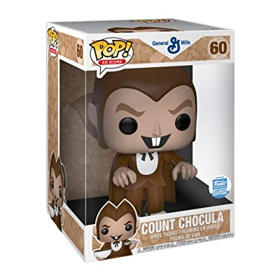 "Funko Count Chocula 10"" Super Sized POP! Ad Icons Limited Edition Vinyl Figure #60: Toys & Games"