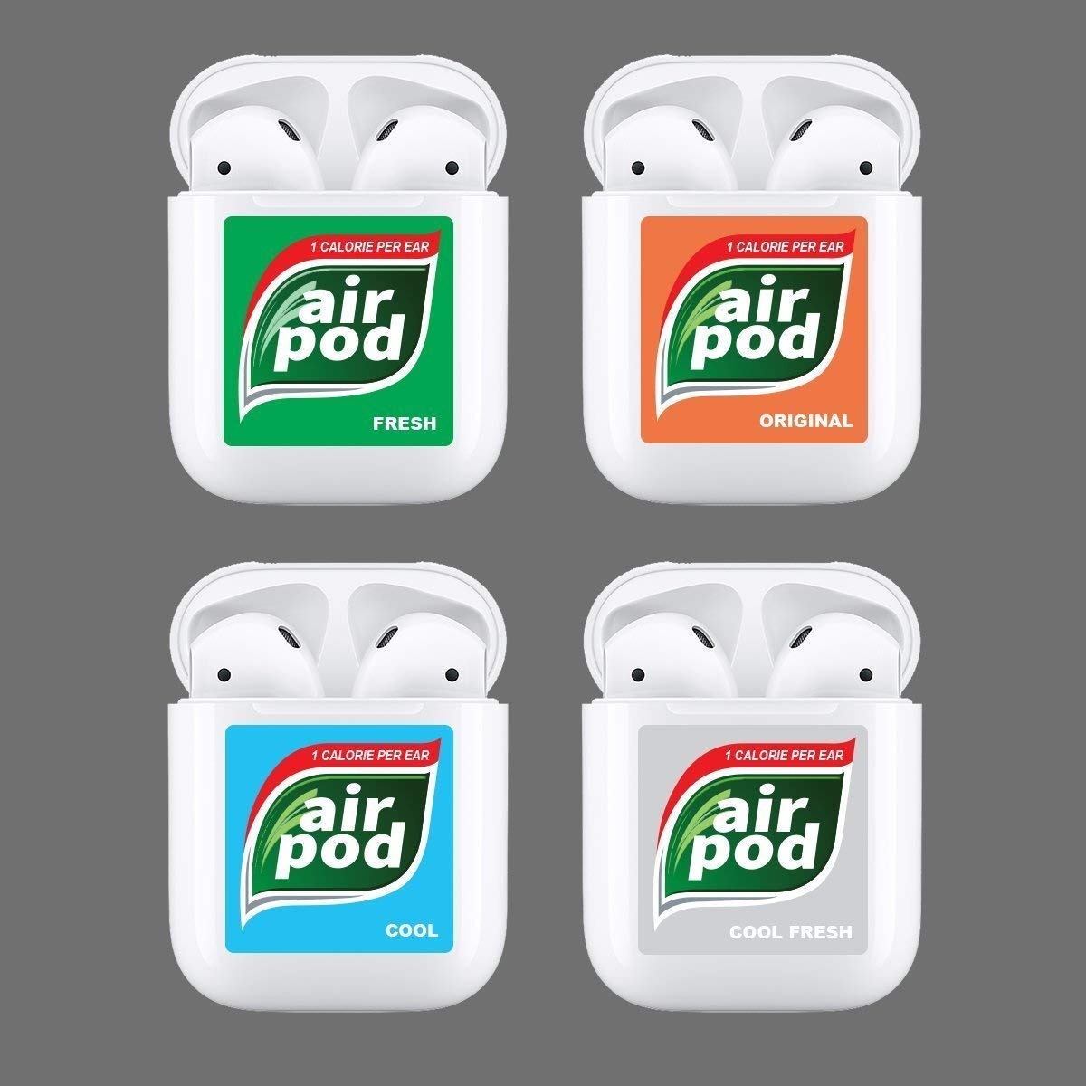 Apple Airpod Case Decal Tic Tac Mints