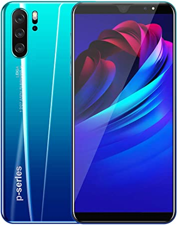5,8 pulgadas de pantalla completa 8MP + 16MP HD P33 Cámara Plus Smartphone 4G + 32G 2800mAh batería,Azul,UKplug: Amazon.es: Hogar