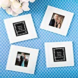 144 Plain Glass Photo Coasters