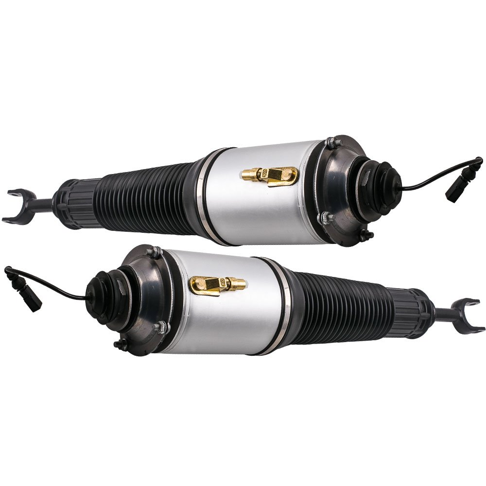 Pair Front Left & Right Air Suspension Struts Shock Absorber for Audi S8 A8 Quattro 2004-2010 4E0616039AF