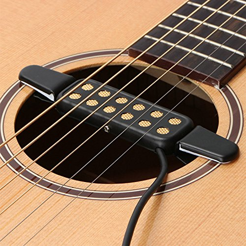 luvay guitar pickups pickup covers acoustic electric transducer for guitar 602914520980 ebay. Black Bedroom Furniture Sets. Home Design Ideas