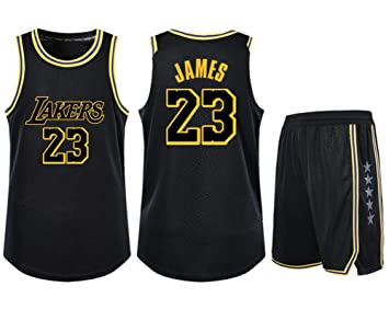 Camiseta de Baloncesto NBA 23 Fan de Lebron James Los Angeles ...