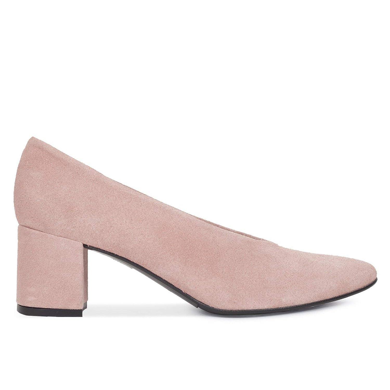 Zapatos Salón. Zapatos Piel Mujer Hechos EN ESPAÑA. Zapatos Tacón Rosa. Zapato Mimao. Zapatos Mujer Tacón. Zapatos Mujer Fiesta. Zapato Cómodo Mujer con Plantilla Confort Gel
