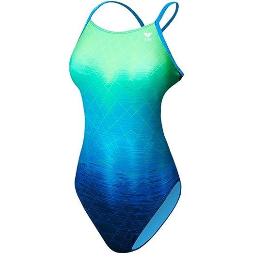 65c46db2f5 Amazon.com  TYR Women s Kinematic Cutoutfit Swimsuit  Sports   Outdoors
