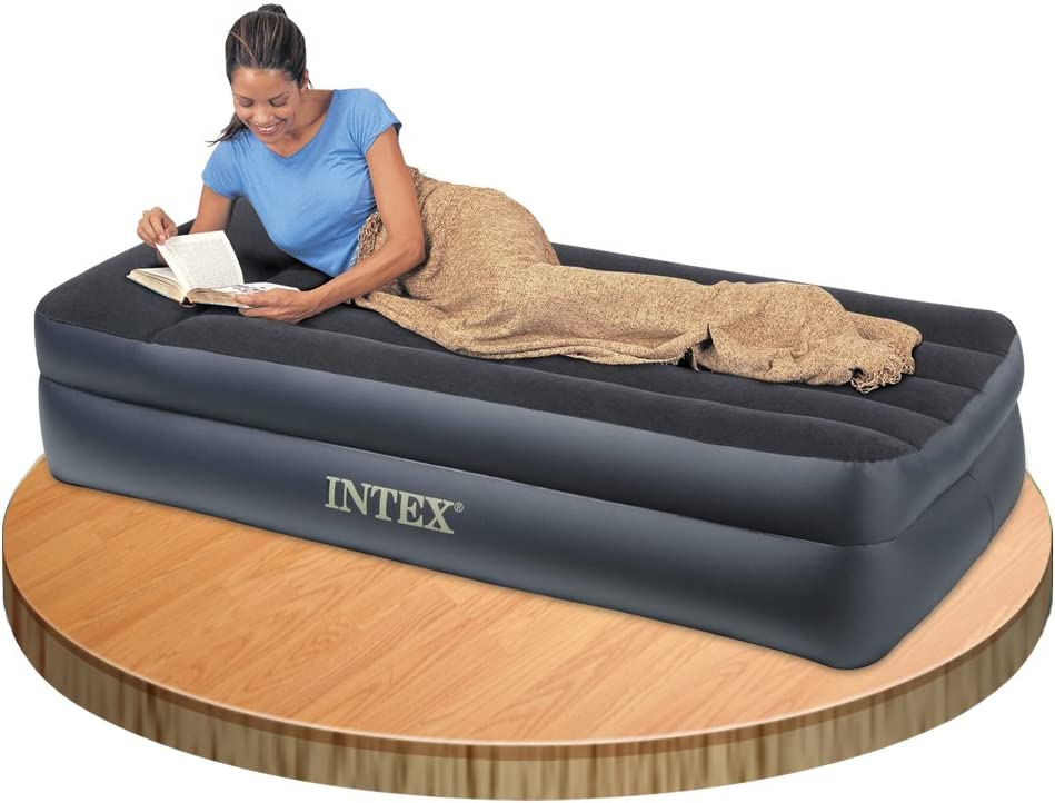 Colch/ón hinchable Intex Fibertech Pillow Rest 99 x 191 x 42 cm