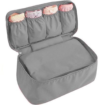 woson multifunción plegable sujetador ropa interior Bra Bolsa Bolsa de almacenamiento impermeable Calcetines Bolsa Bolsa de