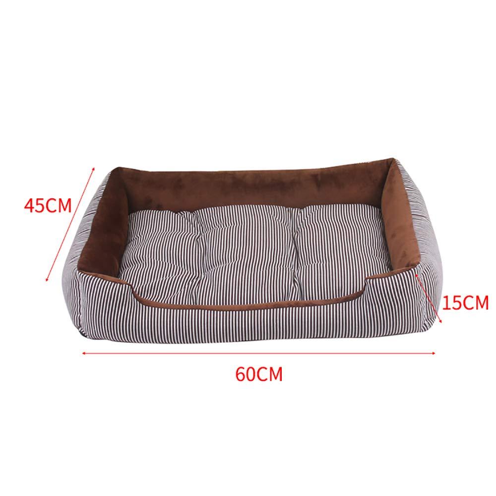 Westeng Cuccia a forma di fragola per cani gatti animali domestici giaciglio caldo morbido pieghevole con cuscino 1 pezzo
