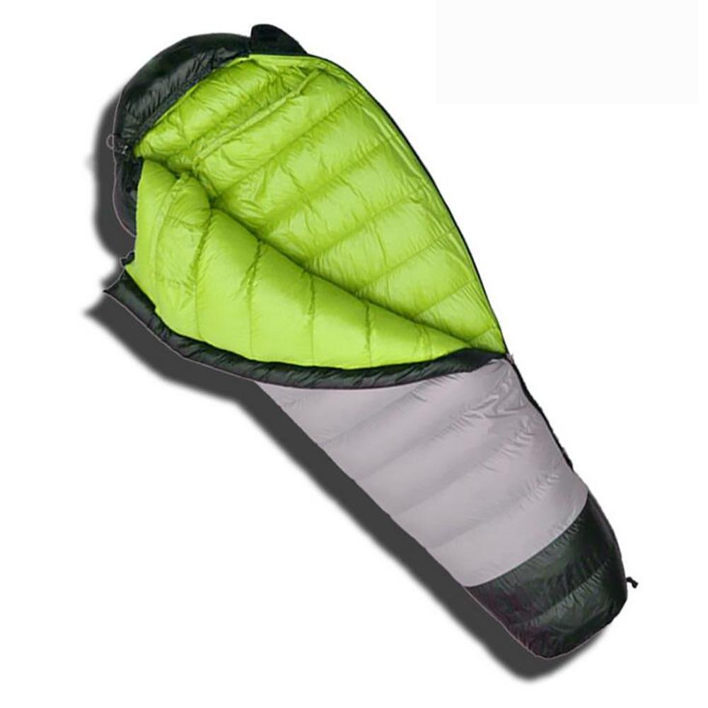 MIAO Sleeping Bags - Outdoor Camping 1000g Down Mummy Sleeping Bag, Suitable For Home / Office Lunch Break / Overtime and Other Occasions , green