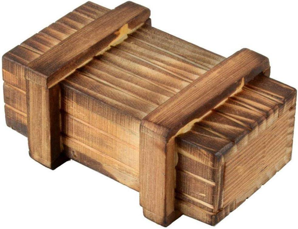 Magische Geschenkbox Aus Holz F/ür Kreative Geschenke Schmuck Und Geld Amasawa Geheimbox
