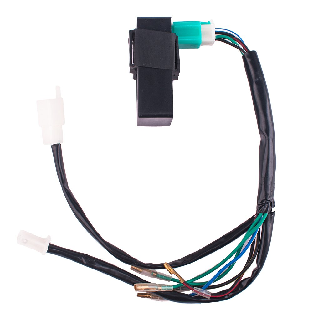 Amazon.com: CISNO Kick Start Dirt Pit Bike Wire Harness Wiring Loom CDI  Coil Magneto 50-125cc: Automotive
