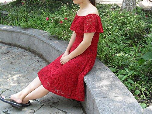 Adodress - Vestido - para Mujer Rojo