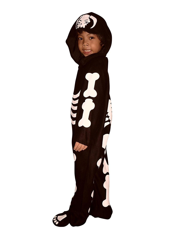 F70 Tamaño traje 18-24 meses esqueleto para Halloween y Carnaval ...