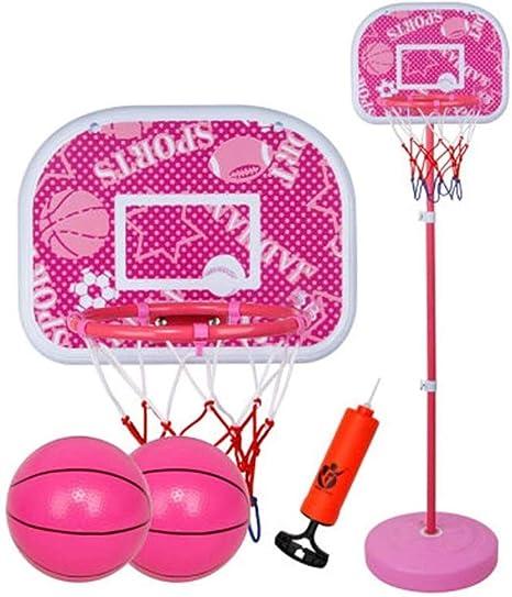 Free Standing Basketball Hoop Net Kids Backboard Stand Set Adjustable Portable
