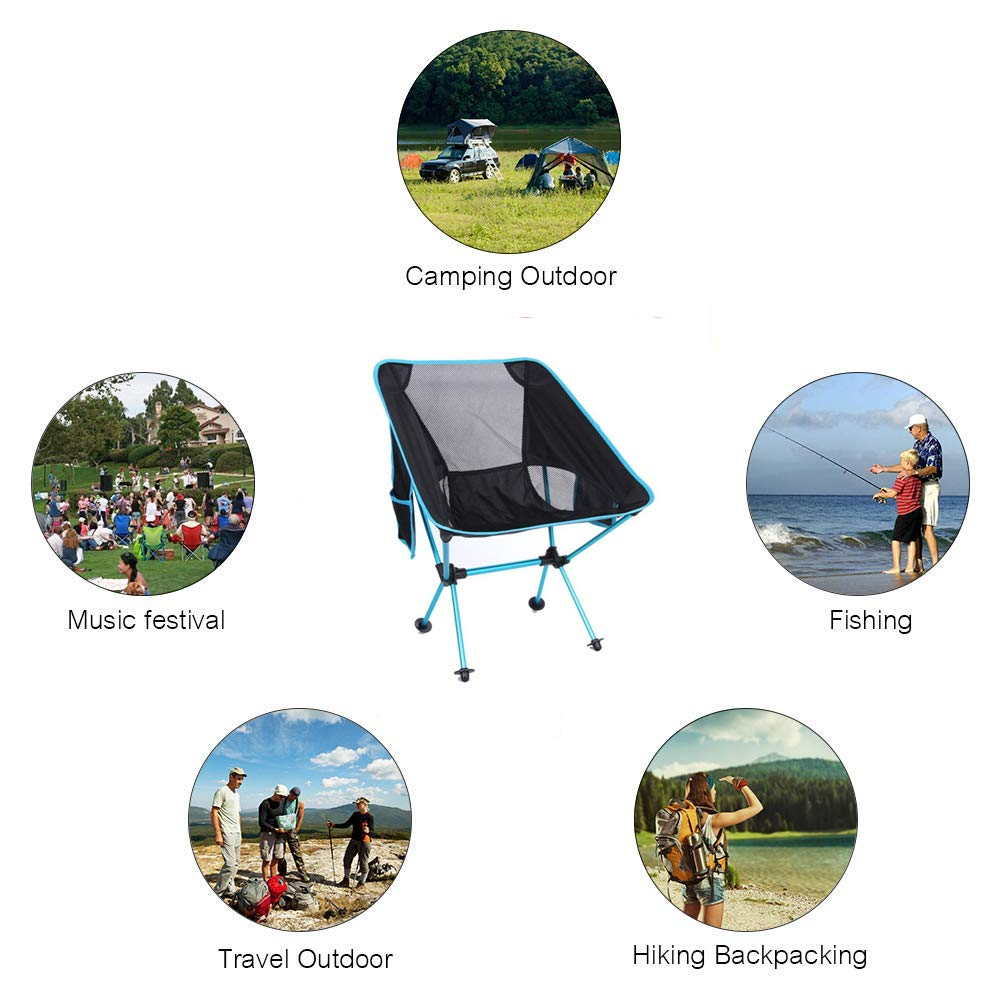 Amazon.com: Nova Republic - Silla de camping ultraligera y ...