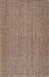 Rivet Natural Chevron Rug, 7'6'' x 9'6'', Tan