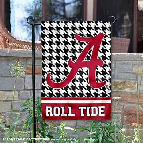 WinCraft Alabama Crimson Tide Houndstooth Garden Flag