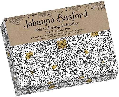 Johanna Basford 2018 Coloring Day To Calendar