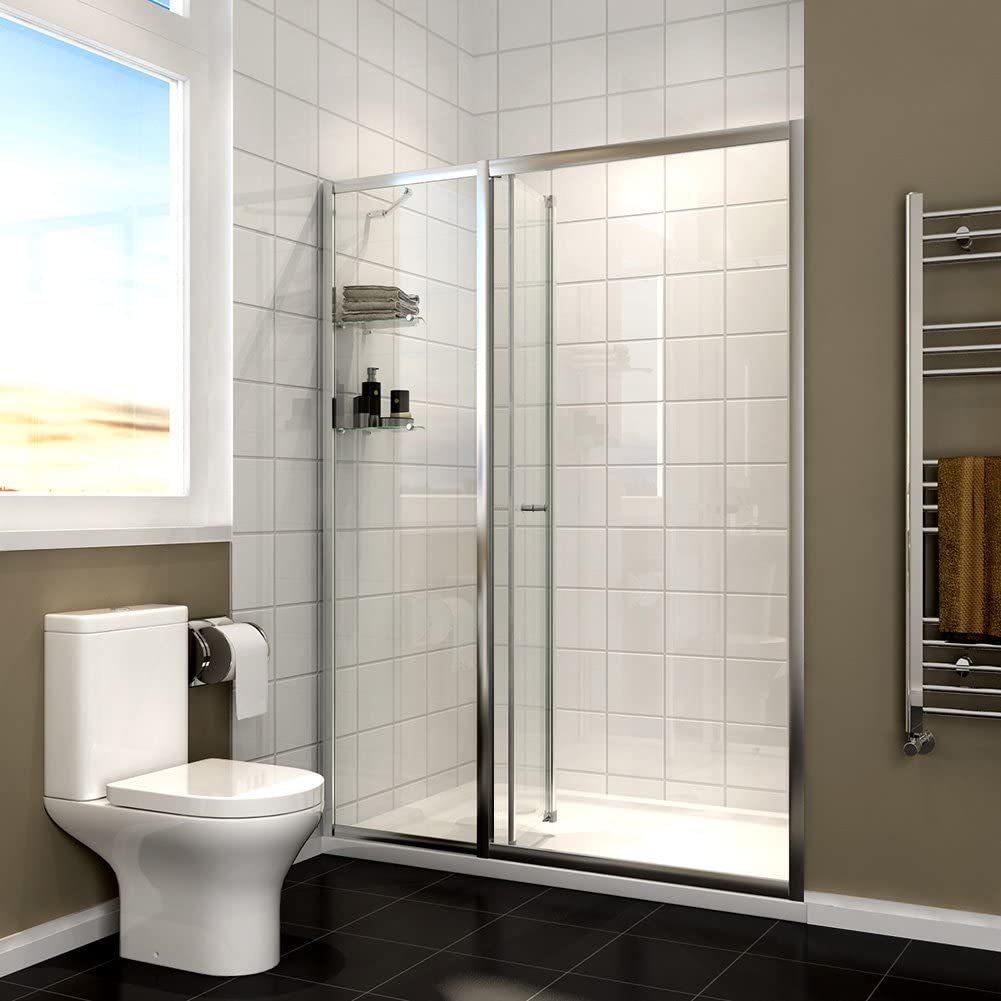 Almacenaje Reversible plegable para mampara de ducha de cristal ...