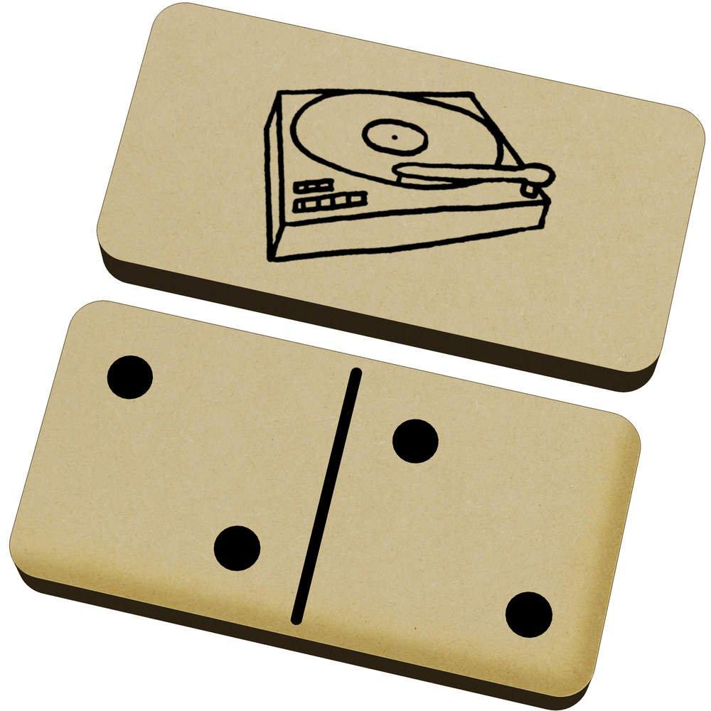 Azeeda Tocadiscos Domino Juego y Caja (DM00012728): Amazon ...