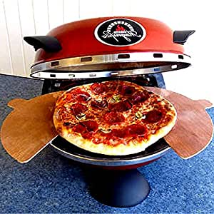 """Toster-Oven Pizza, for Indoor Use 12"""" from Genuine Ceramic Refractory Cooking Stone, Modern Electric Pizza Oven & E-Book"""