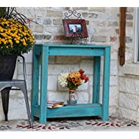 Turquoise Entry Console