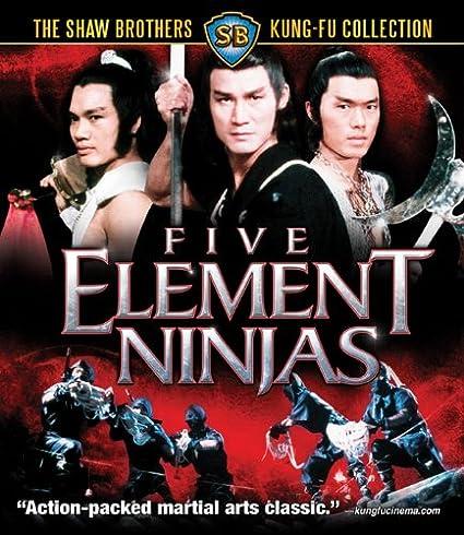 Five Element Ninjas [USA] [Blu-ray]: Amazon.es: Shaw ...