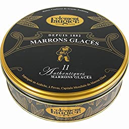 Marrons Glaces - Candied Chestnuts 7.76 oz.