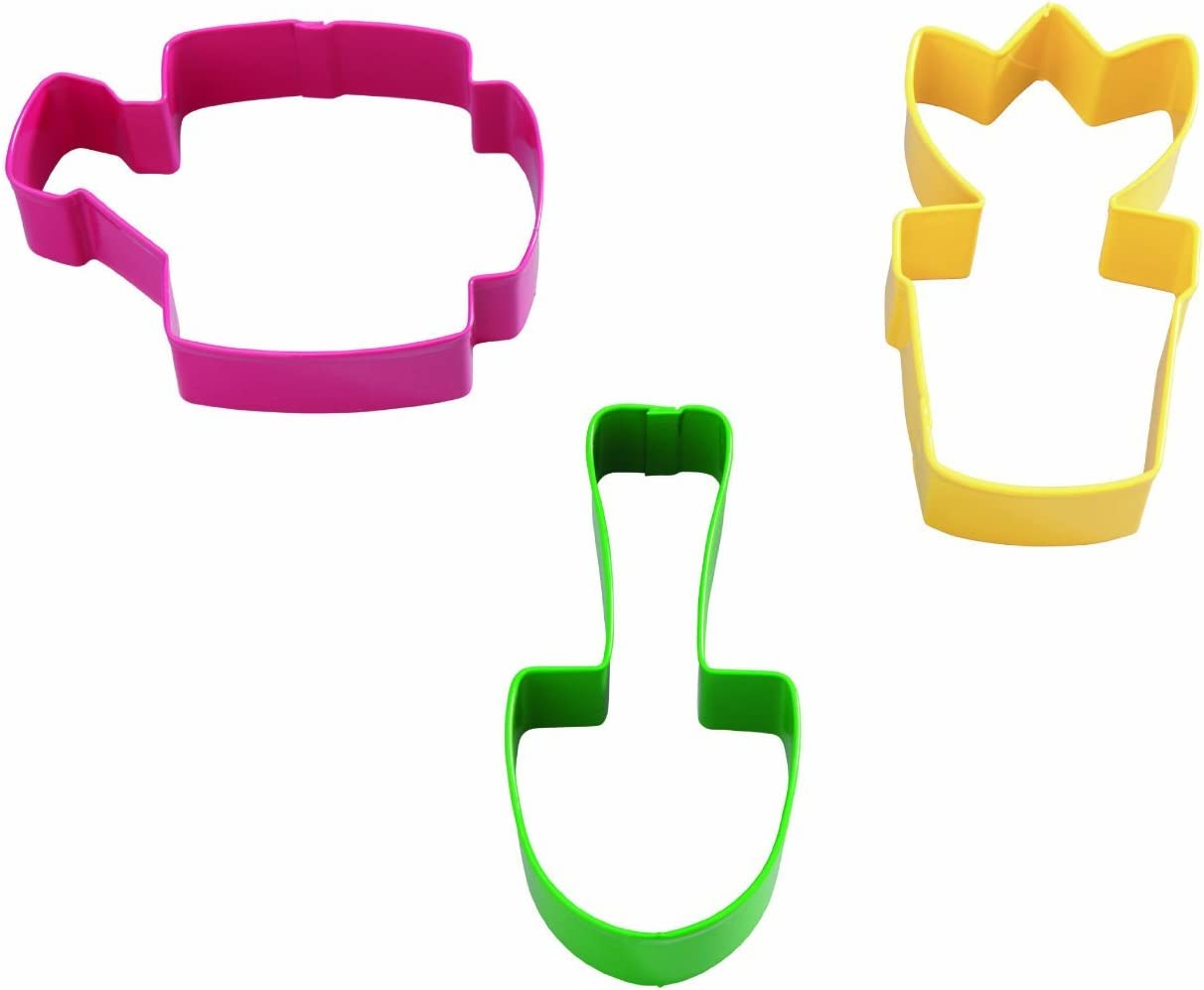 Wilton Garden Colored Metal Cutter Set, 3-Piece